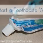Quick Tip #2: Start a Toothpaste War
