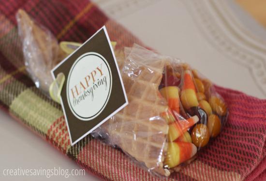 Thanksgiving Cornucopia Favors | Creative Savings