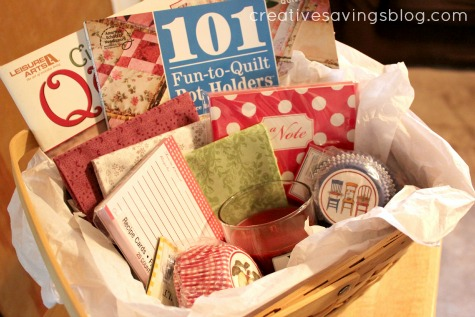 Day 7: The Wonders of a Gift Basket {Finding the Perfect Gift Series}