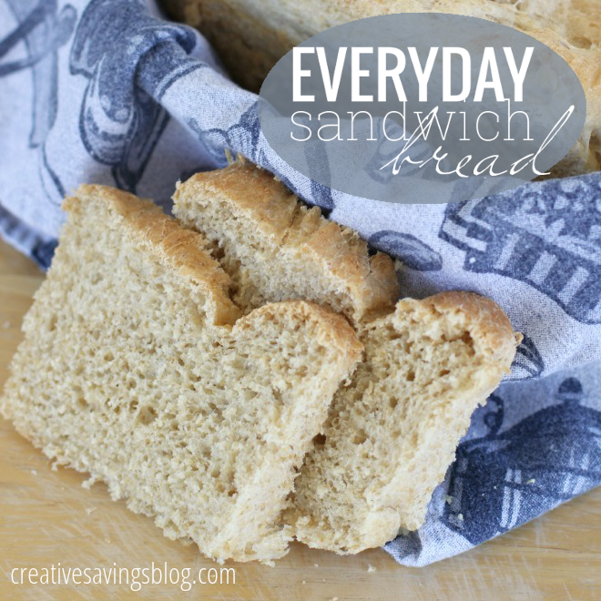 Everyday Sandwich Bread