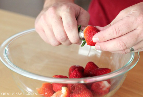 Homemade Strawberry Freezer Jam | Creative Savings