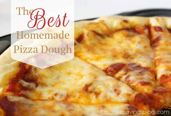 Recipe: The Best Homemade Pizza Dough - Creative Savings
