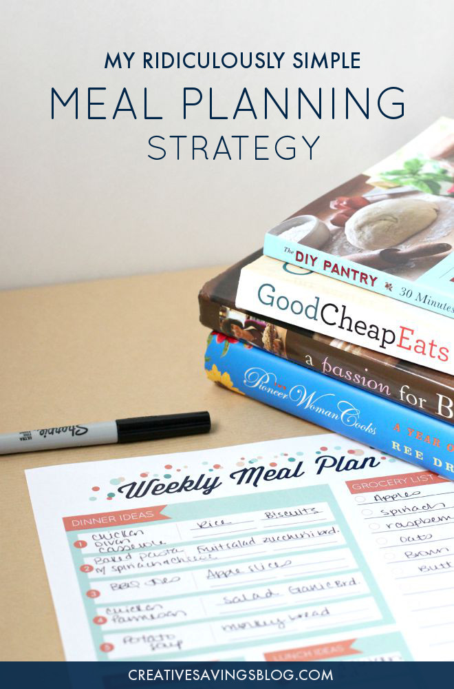 You don't have to feel stuck with only ONE form of meal planning! This concept allows for loads of flexibility and the freedom to choose each meal based how busy your day is, or tastes you're craving. Includes a FREE meal planning printable! #mealplanning #howtomealplan #mealplanstrategy #diymealplan #freemealplanningprintable #mealplanningprintable #freeprintable