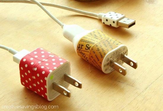 Washi Tape Chargers