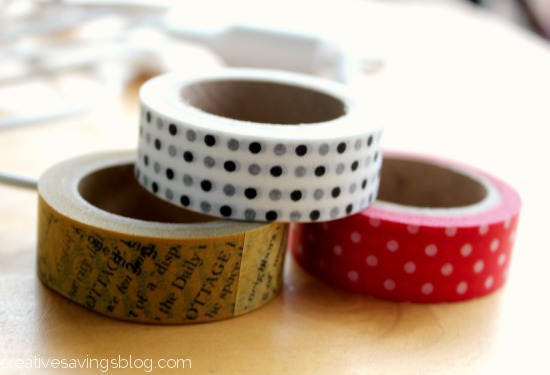 Washi Tape Rolls for Washi Tape Chargers