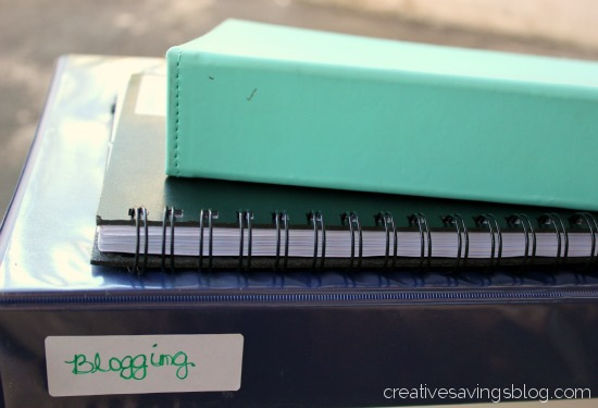 blogging notebooks