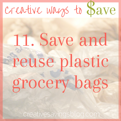 As long as plastic grocery bags exist, we might as well get some extra use out of them! Here are some ideas to stretch the life of your plastic bag.