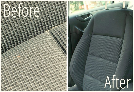 diy car upholstery cleaner creative savings. Black Bedroom Furniture Sets. Home Design Ideas