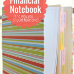 A Peek into My Financial Notebook {and Why You Should Have One}