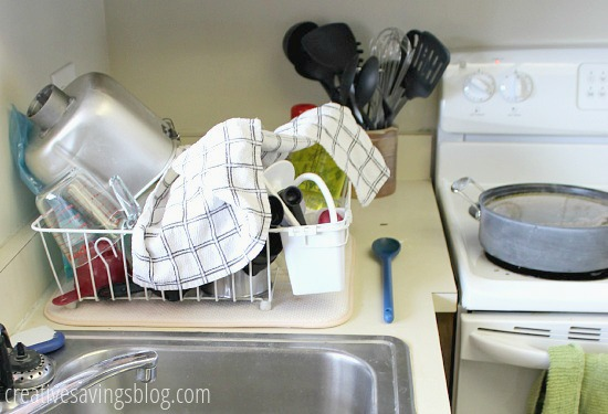 Keep your kitchen clean while you freezer cook