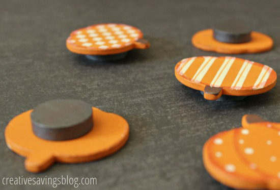 Pumpkin Magnets | Creative Savings