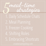 5 Meal Strategies to Simplify a Busy Lifestyle