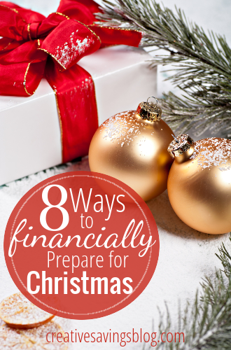 In years past, I've felt totally stressed out about Christmas shopping before it was even Thanksgiving! This year is going to be different! I'm preparing ahead of time with these 8 tips. #7 is the best ever! #christmasbudget #holidayspending #Christmasprep #budgetingforChristmas #savingforChristmas