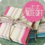 Pretty Post-it Gift