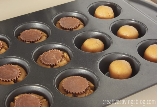 Peanut Butter Cookie Cups | Creative Savings