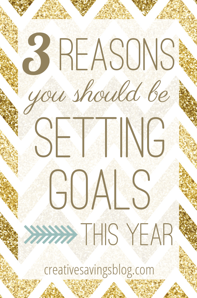 Resolutions might not work, but goals DO. This post gives 3 solid reasons why you should be setting goals right now, & includes access to a FREE goal setting worksheet!