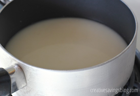 Homemade Condensed Cream of Chicken Soup | Creative Savings