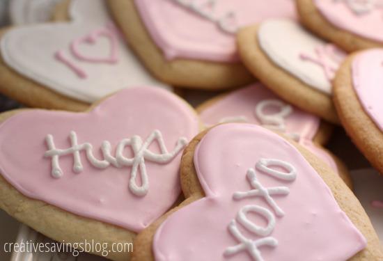 Valentine Sugar Cookies | Creative Savings
