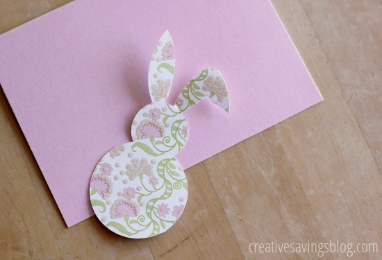 Easter Bunny Card | Creative Savings