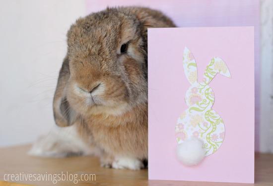 Easter Bunny Card | Creative Savings