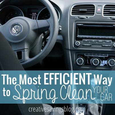 Short on time, but still want a car that sparkles? You can Spring Clean your car in less than 15 minutes and improve the look right away.