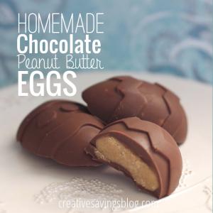 Homemade Chocolate Peanut Butter Eggs