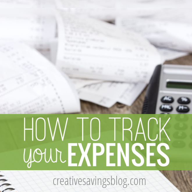 If you are serious about changing your financial habits, you need to keep track of ALL your spending! This post will show you how.