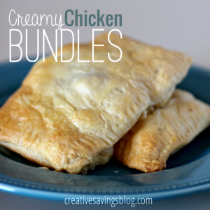 Creamy Chicken Bundles