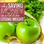 Why Saving Money Is A Lot Like Losing Weight