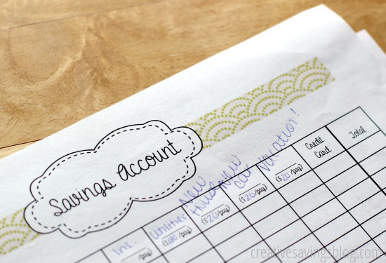 Maintaining Your Monthly Budget   Creative Savings