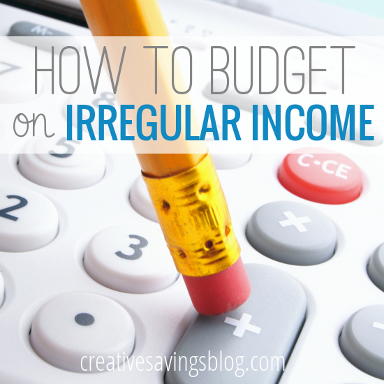 It's not impossible to budget on irregular income. Discover the 3 tricks to recreate a steady paycheck!