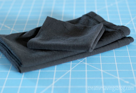 How to Turn Old T-Shirts into Dust Rags | Creative Savings