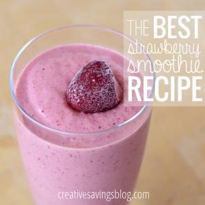 The Best Strawberry Smoothie Recipe