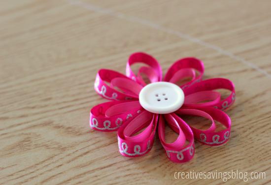 bow1csDIY Flower Hair Bows | Creative Savings