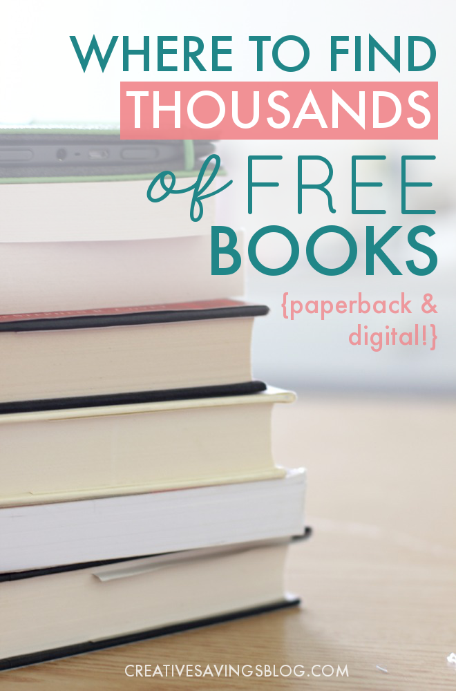 Love to read? Here's how to find thousands of free books—both paperback and digital—with absolutely no strings attached. Includes a list of my all-time favorite websites! #freebooks #freepaperbacks #loveofreading #reading #reader #loveofbooks #books #bookish #freeebooks