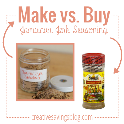 Is it cheaper to buy Jamaican Jerk Seasoning, or to make it at home? This post explains which one costs less!