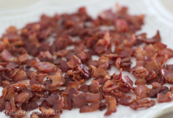 Make Your Own Bacon Bits | Creative Savings