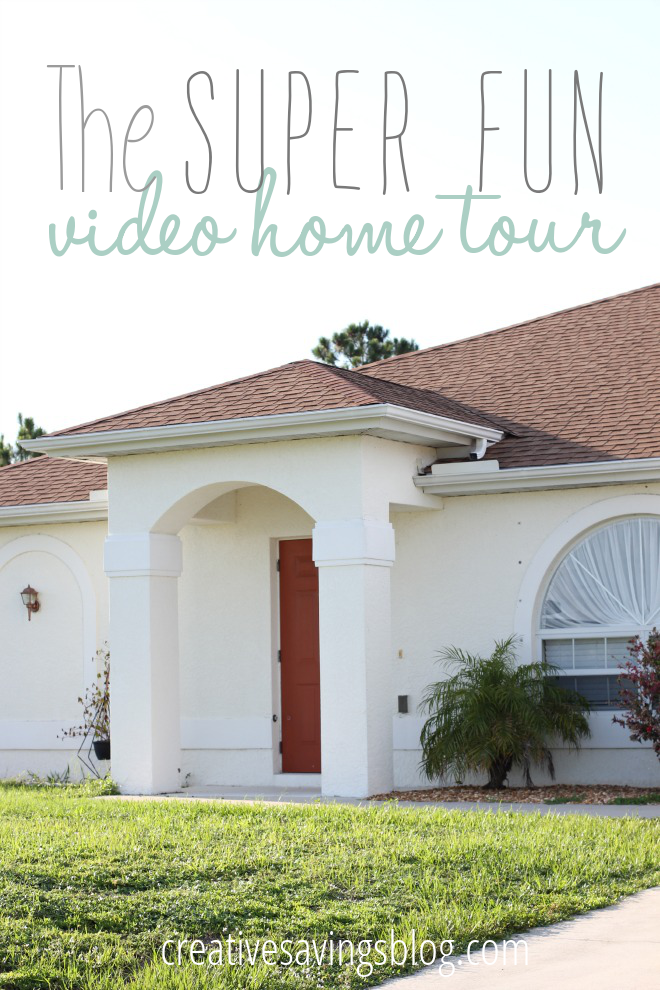 This super fun video home tour will give you a peek at what our new home actually looks like BEFORE we give it a makeover!