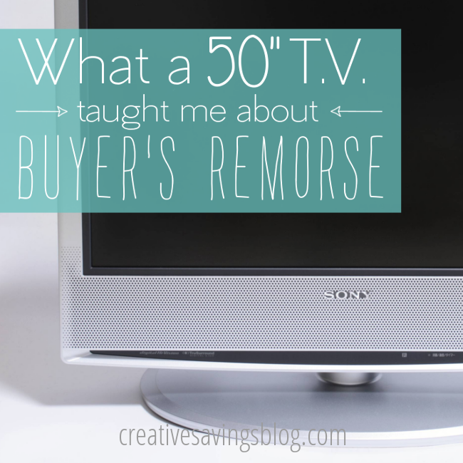 Buyer s remorse is a REAL thing. Learn how one woman decided her most  recent purchase 85c7e202940a