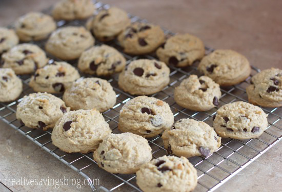 Peanut Butter Chocolate Chips Cookies | Creative Savings