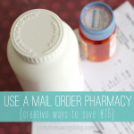 Save money on prescriptions AND make the easy switch to a mail order pharmacy. The benefits and convenience are amazing!