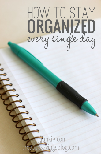 How many times do you wake up with a massive to-do list, only to get distracted by other demands? Here's how to stay organized every day!