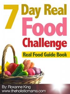 7 Day Real Food Challenge - Winter Menu