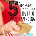Impulse purchases have the potential to destroy your entire finances within minutes. Here are 5 ways to control impulse spending for good!