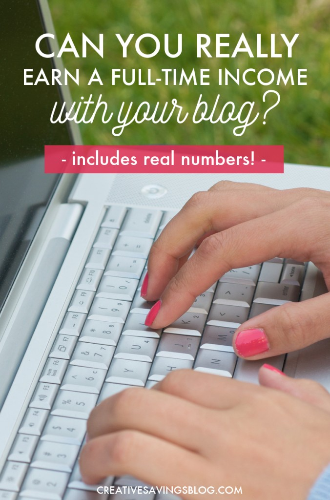 Are you discouraged that your blog isn't making much, if ANY money? Over the past 3 years, this blogger has more than tripled her income, and in this transparent post, she shares exactly how she took her blog to the next level. Proof you really can make a full-time income blogging!