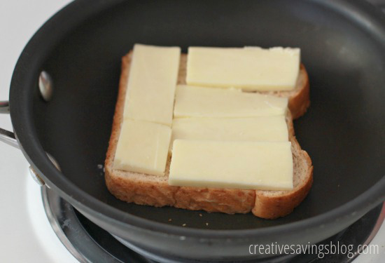 Grilled Ham and Cheese Sandwiches | Creative Savings