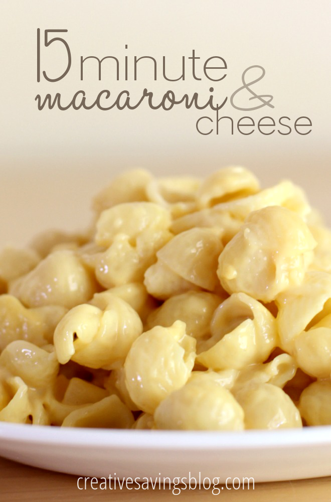 15 Minute Mac and Cheese | Stovetop Mac and Cheese