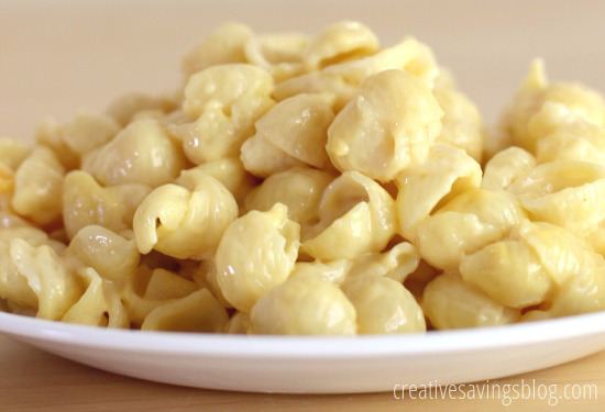Stovetop Macaroni and Cheese | Creative Savings