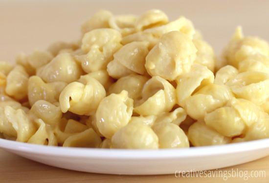 Stovetop Macaroni and Cheese | Creative Savings