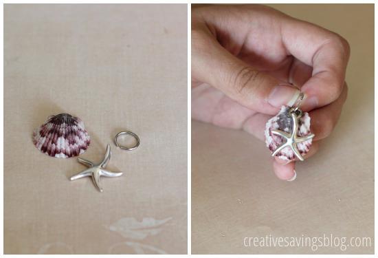 DIY Shell Neclace | Creative Savings